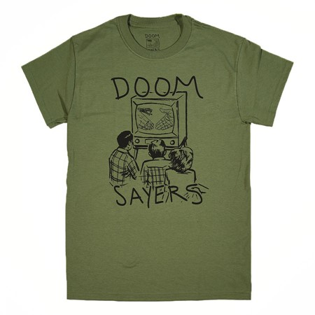 Doom Sayers Kill Television T Shirt Military