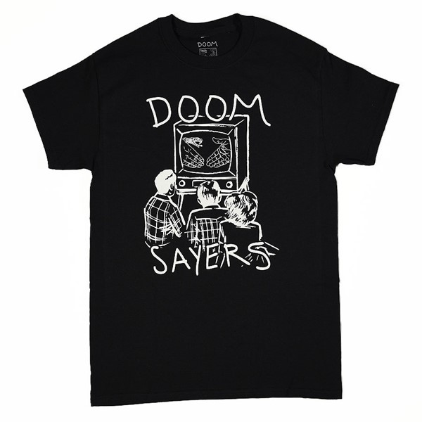 Doom Sayers Kill Television T Shirt Black