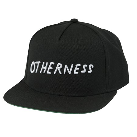 The Otherness Wool Snap Back Hat Black