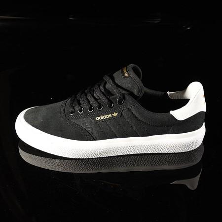 Size 9.5 in adidas 3MC Shoe, Color: Black, White, Black