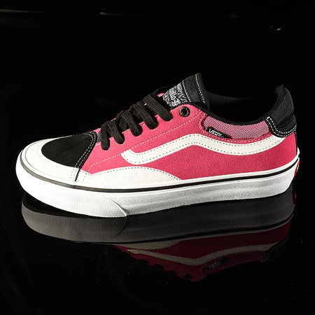 Vans TNT Advanced Prototype Shoe Black, Magenta, White, Black