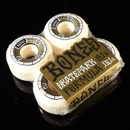 Bones Wheels Deathbox SPF Wheels White