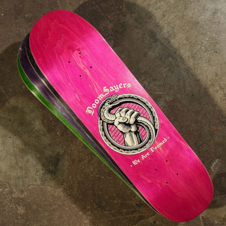 Doom Sayers Infinity Snake Deck Assorted Stains
