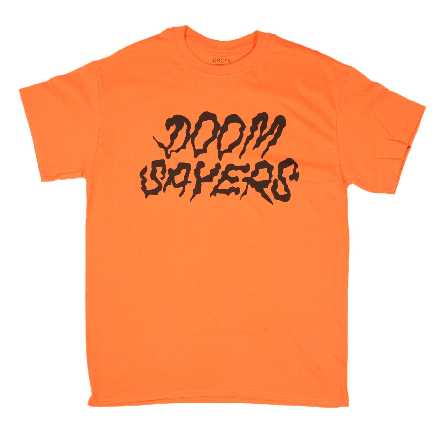 Orange T Shirts Squiggle T Shirt in Stock Now