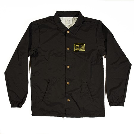 Doom Sayers Snake Shake 2 Coaches Jacket Black