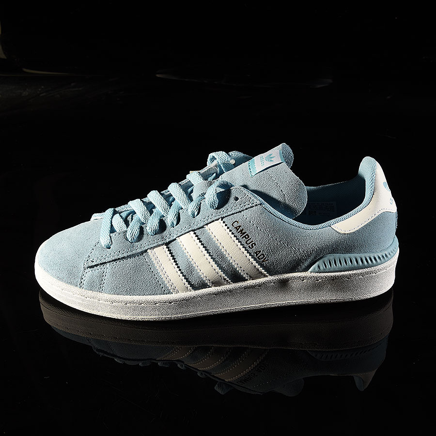 Clear Blue, White Shoes Campus ADV Shoe in Stock Now