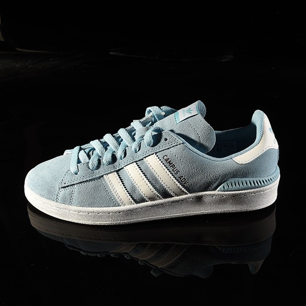 adidas Campus ADV Shoe Clear Blue, White