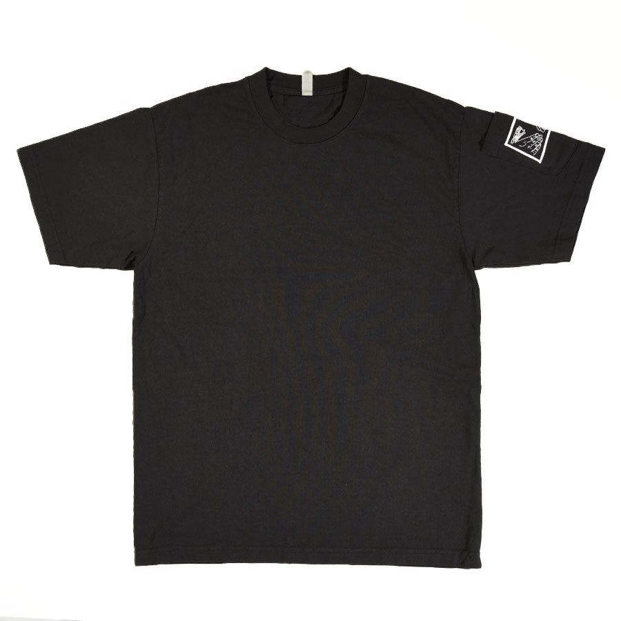 Washed Black T Shirts Snake Shake Dean Pocket T Shirt in Stock Now