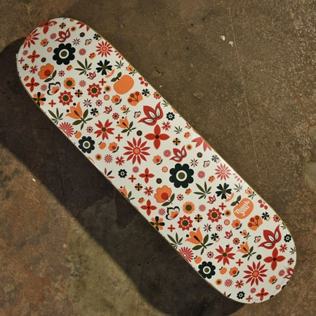 Thank You Torey Pudwill Flower Power Deck White