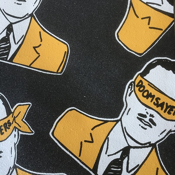Doom Sayers Corp Guy Griptape Black