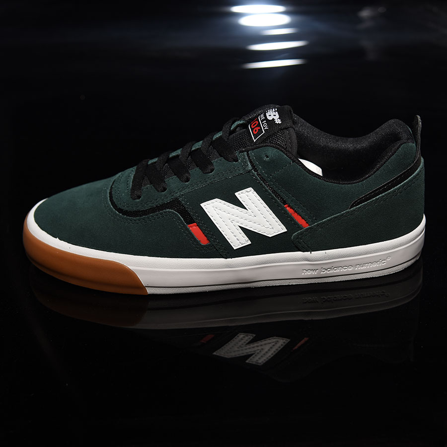 Dark Green, Red, White Shoes Jamie Foy 306 Shoes in Stock Now