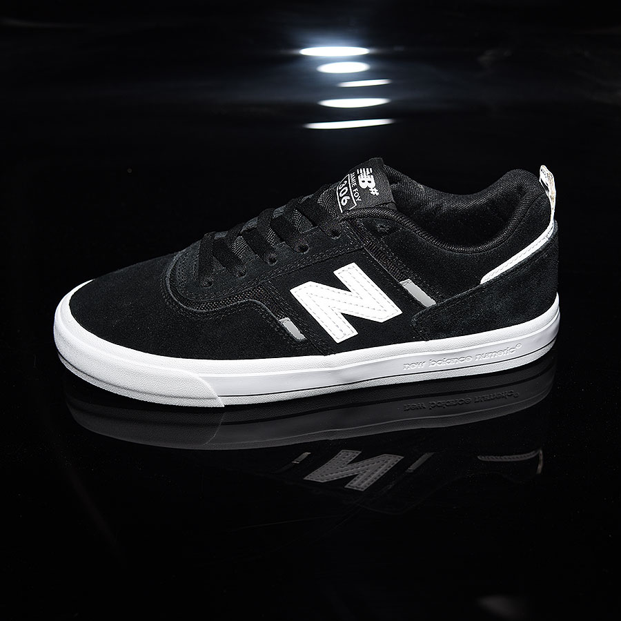 Black, White Shoes Jamie Foy 306 Shoes in Stock Now