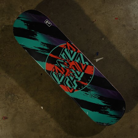 Santa Cruz Brush Dot Wide Tip Deck