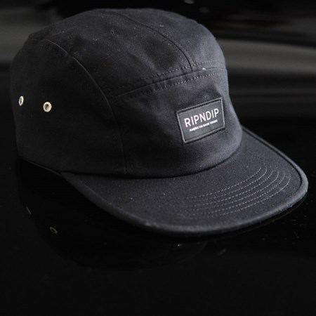 RIPNDIP Camp Hat Black