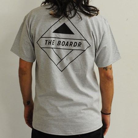 The Boardr Pocket T Shirt Heather Grey