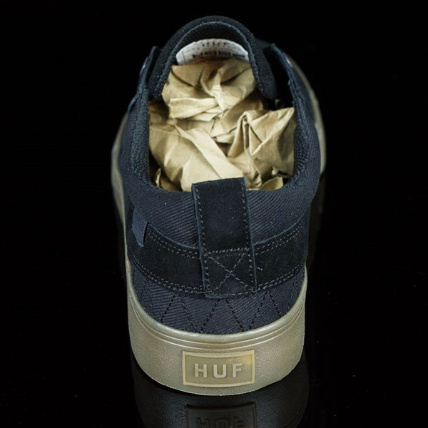 HUF Ramondetta Pro Shoes Black, Dark Gum Rotate 12 O'Clock