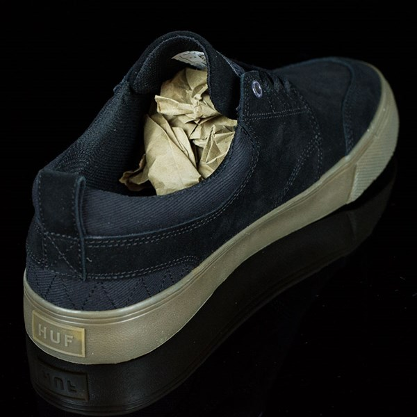 HUF Ramondetta Pro Shoes Black, Dark Gum Rotate 1:30