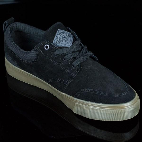 HUF Ramondetta Pro Shoes Black, Dark Gum Rotate 4:30
