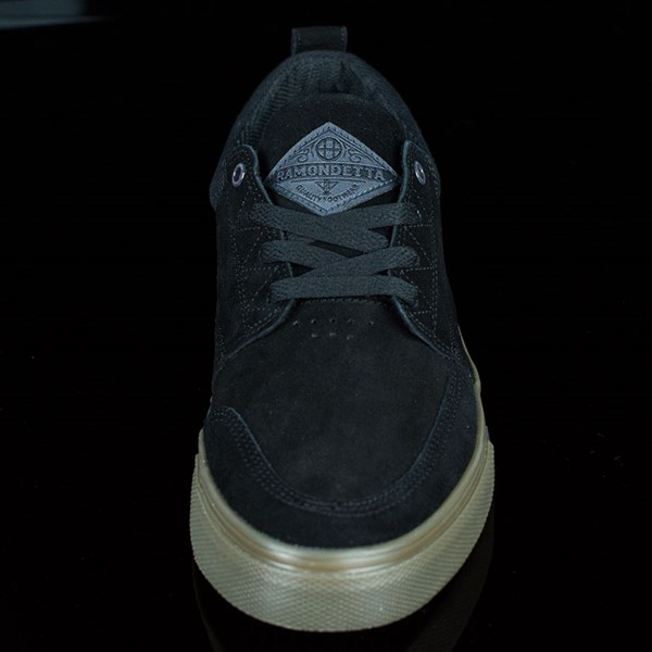 HUF Ramondetta Pro Shoes Black, Dark Gum Rotate 6 O'Clock