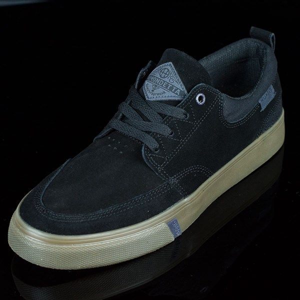 HUF Ramondetta Pro Shoes Black, Dark Gum Rotate 7:30