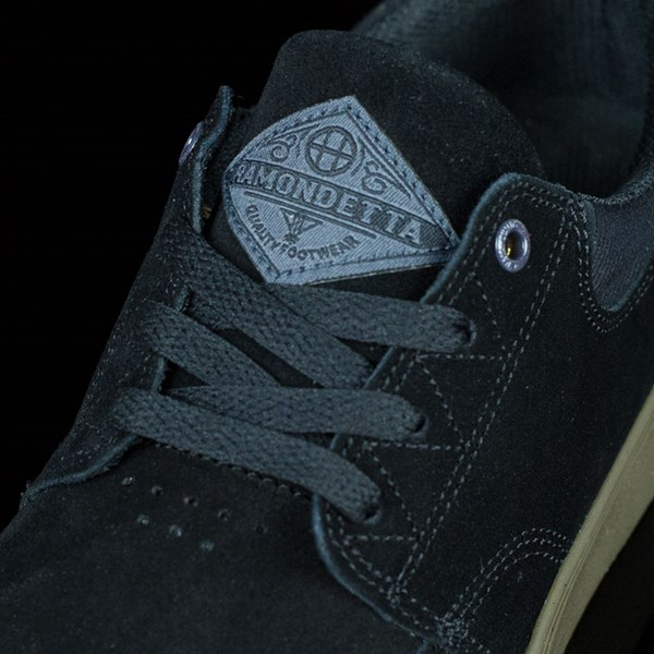 HUF Ramondetta Pro Shoes Black, Dark Gum Tongue