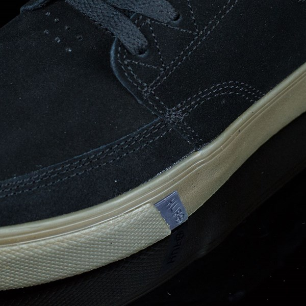 HUF Ramondetta Pro Shoes Black, Dark Gum Closeup