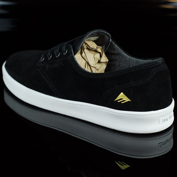 Emerica The Romero Laced Shoes Black, White Rotate 7:30