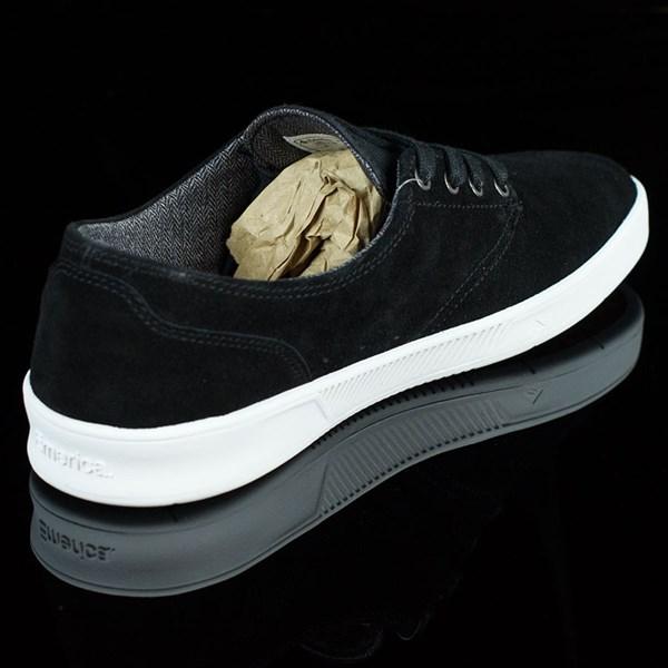 Emerica The Romero Laced Shoes Black, White Rotate 1:30