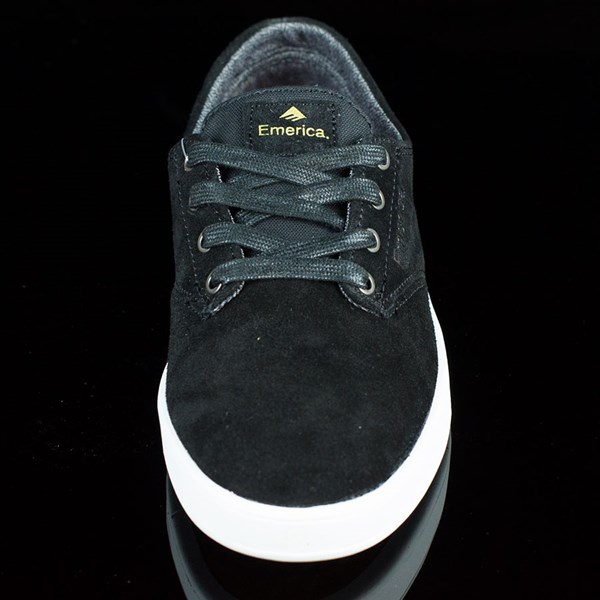 Emerica The Romero Laced Shoes Black, White Rotate 6 O'Clock