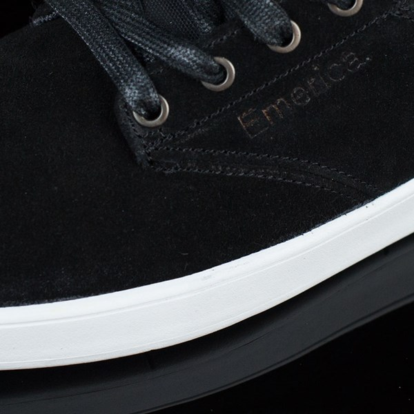 Emerica The Romero Laced Shoes Black, White Closeup