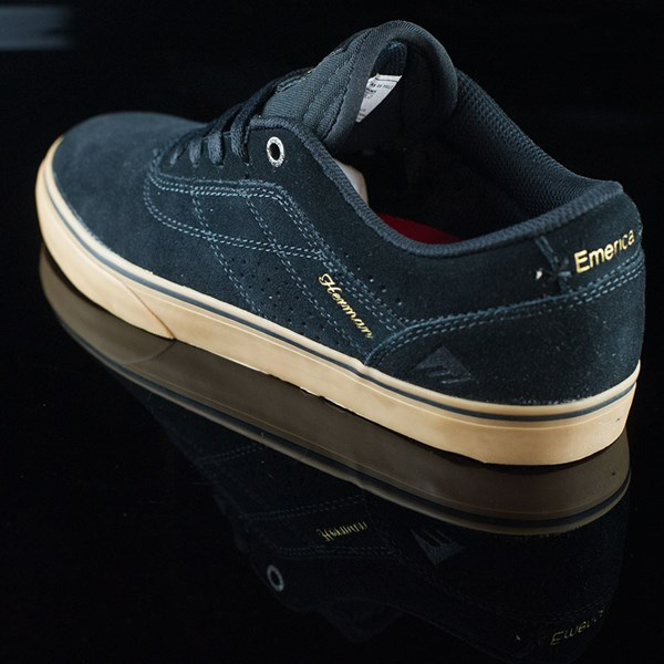 Emerica The Herman G6 Vulc Shoes Black, Gum Rotate 7:30