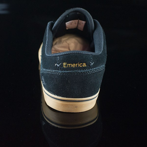 Emerica The Herman G6 Vulc Shoes Black, Gum Rotate 12 O'Clock