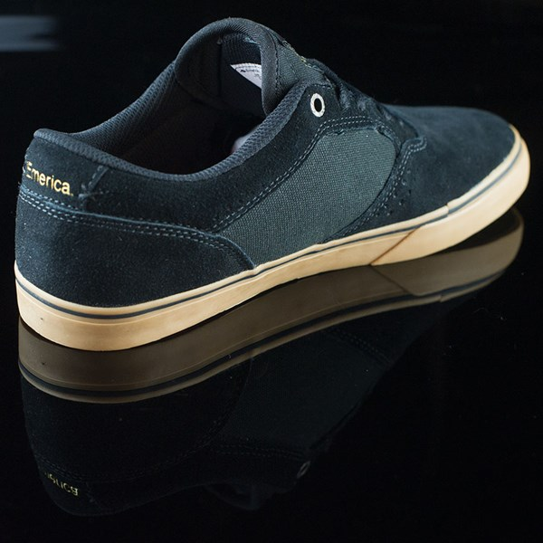 Emerica The Herman G6 Vulc Shoes Black, Gum Rotate 1:30
