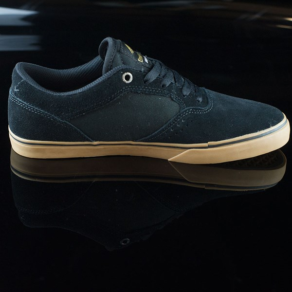 Emerica The Herman G6 Vulc Shoes Black, Gum Rotate 3 O'Clock