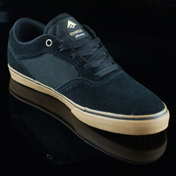 Emerica The Herman G6 Vulc Shoes Black, Gum Rotate 4:30