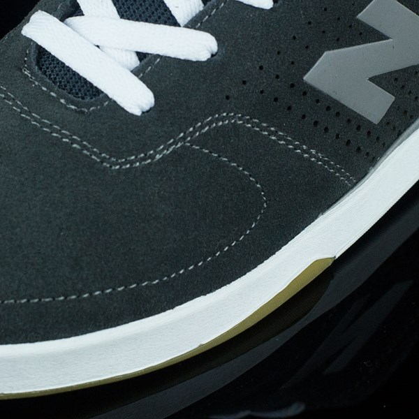 NB# Stratford Shoes Pirate Black, Micro Grey Closeup