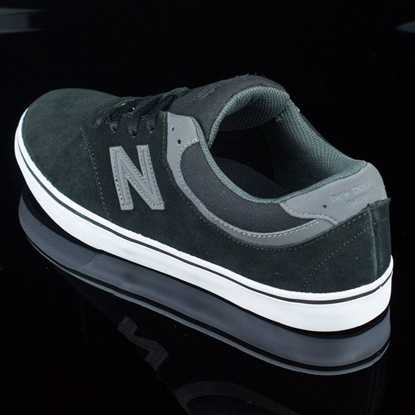NB# Quincy Shoes Black, Magnet Grey Rotate 7:30