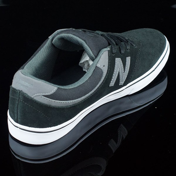 NB# Quincy Shoes Black, Magnet Grey Rotate 1:30
