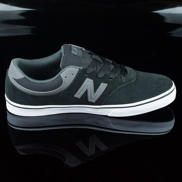 NB# Quincy Shoes Black, Magnet Grey Rotate 3 O'Clock