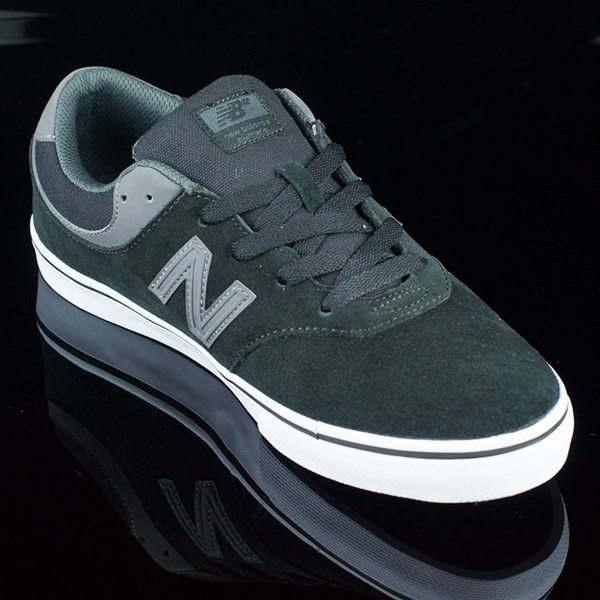 NB# Quincy Shoes Black, Magnet Grey Rotate 4:30