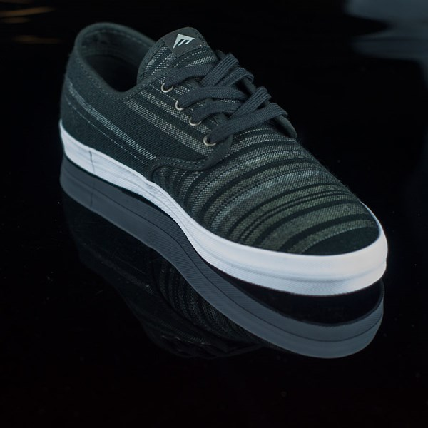 Emerica The Wino Shoes Black, Grey Rotate 4:30