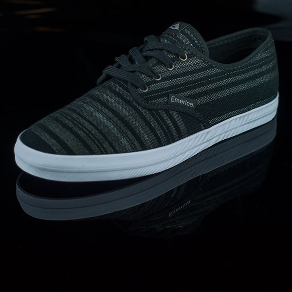 Emerica The Wino Shoes Black, Grey Rotate 7:30