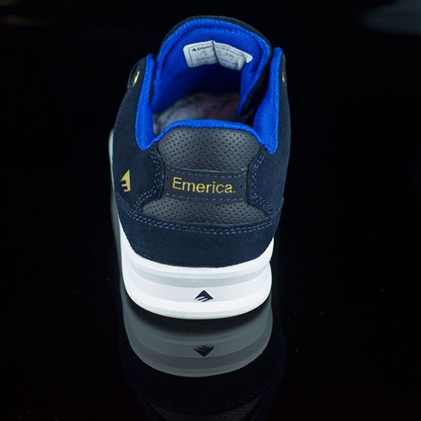 Emerica The Reynolds Low Shoes Dark Navy Rotate 12 O'Clock
