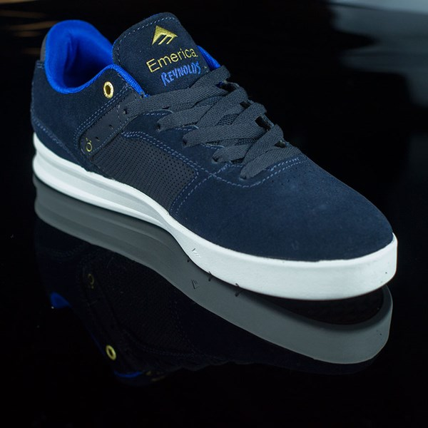 Emerica The Reynolds Low Shoes Dark Navy Rotate 4:30