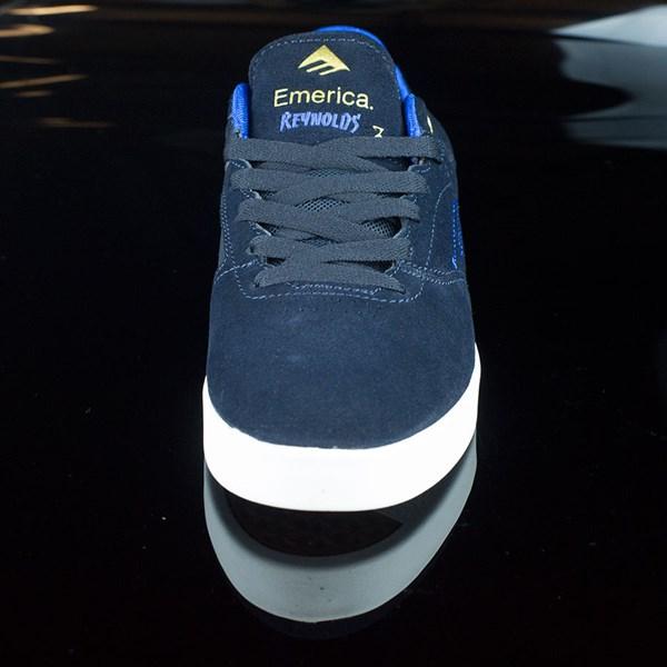 Emerica The Reynolds Low Shoes Dark Navy Rotate 6 O'Clock