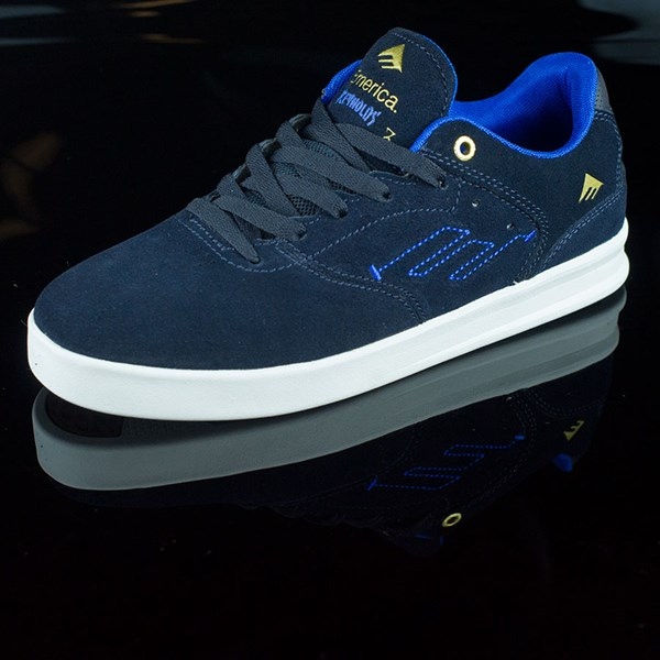 Emerica The Reynolds Low Shoes Dark Navy Rotate 7:30