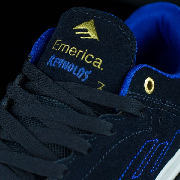Emerica The Reynolds Low Shoes Dark Navy Tongue