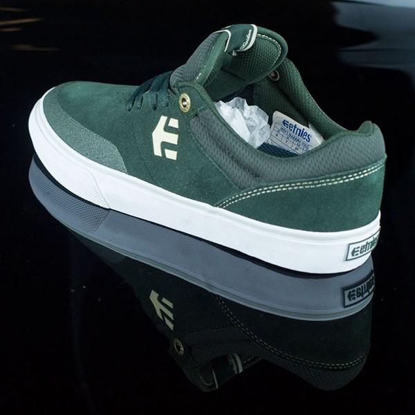 etnies Marana Vulc Shoes Dark Green Rotate 7:30
