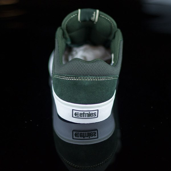 etnies Marana Vulc Shoes Dark Green Rotate 12 O'Clock