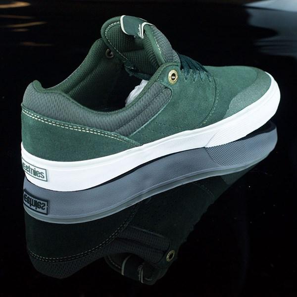 etnies Marana Vulc Shoes Dark Green Rotate 1:30